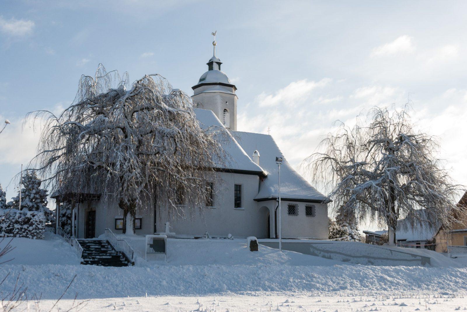Kirche Wimmelbach Winter