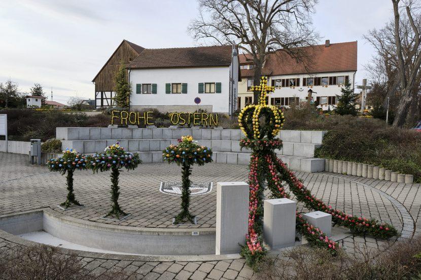 Eindrücke vom Hausener Osterbrunnen